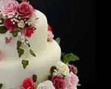 hand made wedding cake by Special Ice of Ledbury - Shirley Cake
